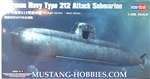 HOBBY BOSS 1/350 GERMAN NAVY TYPE 212 ATTACK SUBMARINE