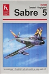 "Hobby Craft 1/72 Canadair ""Dogfighter"" Sabre 5"