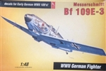 Hobby Craft 1/48 Messerschmitt 109E-3