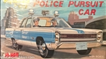 JO-HAN 1/25 Plymouth Fury Police Pursuit Car