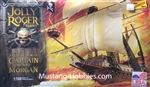 Lindberg 1/130Jolly Roger Series: Satisfaction of Captain Morgan Pirate Ship