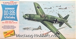 Lindberg 1/72 Dornier Do-335 World War Two Twin Engine German Airplane
