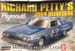 LINDBURG 1/25 Richard Petty's 1964 Belvedere Plymouth