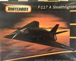 MATCHBOX 1/72 F-117 A STEALTH FIGHTER