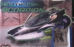 POLAR LIGHTS 1/33 Star Trek Nemesis Scorpion W/ JEAN-LUC PICARD AND DATA FIGURE