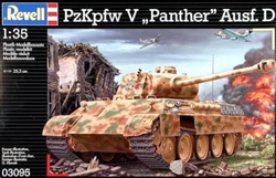 REVELL GERMANY 1/35 Pz.Kpfw. V Panther Ausf. D