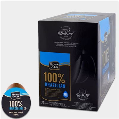 Photo of 100 Percent Brazilian Coffee K Cups by Brown Gold