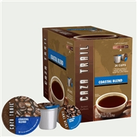 Photo of Coastal Blend Coffee K Cups by Caza Trail