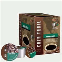 Photo of Dark Roast Coffee K Cups by Caza Trail