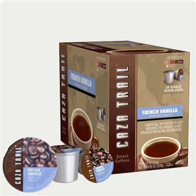 Photo of French Vanilla Flavored Coffee K Cups by Caza Trail
