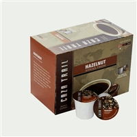 Photo of Hazelnut Flavored Coffee K Cups by Caza Trail