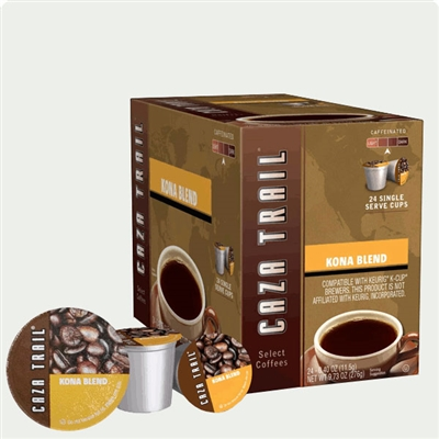 Photo of Kona Blend Coffee K Cups by Caza Trail