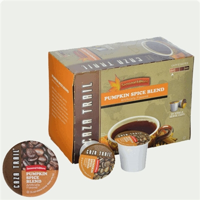 Photo of Pumpkin Spice Flavored Coffee K Cups by Caza Trail