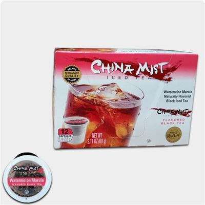 Photo of Watermelon Marula Flavored Iced Tea K Cups by China Mist