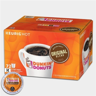 Photo of Original Blend Coffee K Cups by Dunkin Donuts