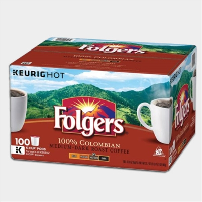 Photo of Gourmet Colombian Coffee K Cups by Folgers