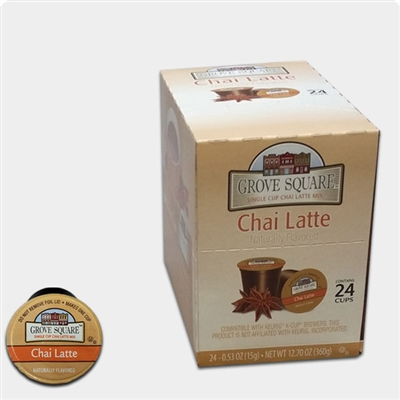 Photo of Chai Latte K Cups by Grove Square