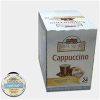 Photo of French Vanilla Flavored Cappuccino K Cups by Grove Square