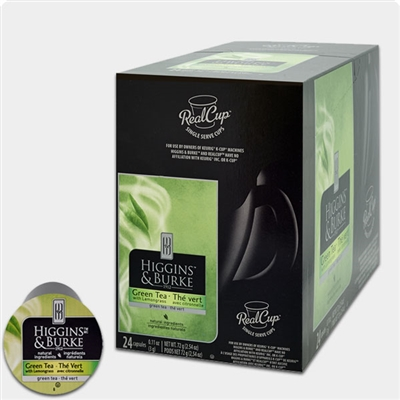 Photo of Green Tea K Cups by Higgins and Burke