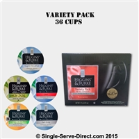 Photo of 36 Tea Variety Pack of K Cups by Higgins and Burke