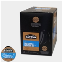 Photo of French Vanilla Flavored Cappuccino K Cups by Martinson Coffee