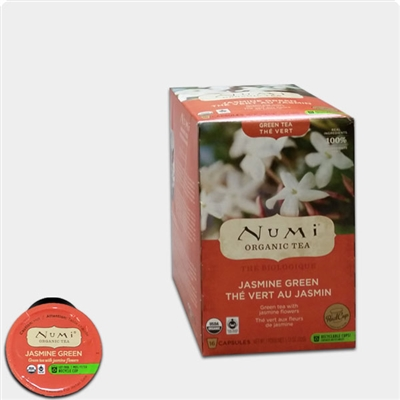 Photo of Organic Jasmine Green Tea K Cups by Numi Tea