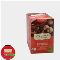 Photo of Organic Rooibos Chai Tea K Cups by Numi Tea