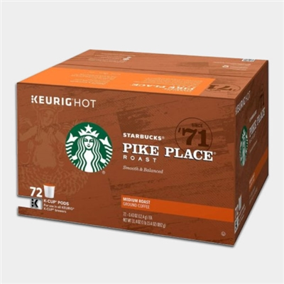 Photo of Pike Place Coffee K Cups by Starbucks