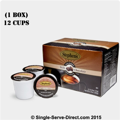 Photo of Milk Hot Chocolate Cocoa K Cups by Stephen's Gourmet