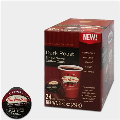 Photo of Dark Roast Coffee K Cups by Tim Hortons