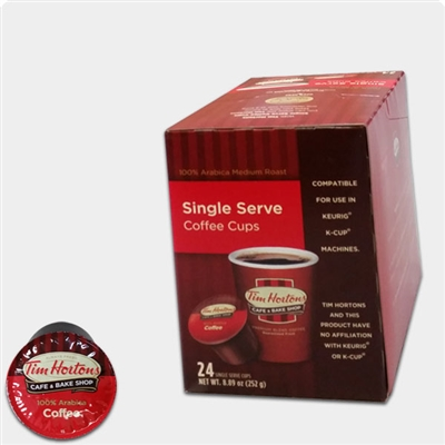 Photo of Regular Blend Coffee K Cups by Tim Hortons