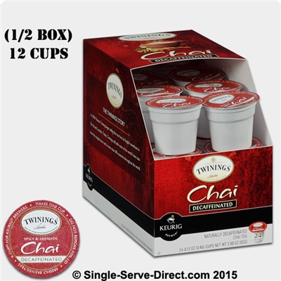 Photo of Decaf Chai Tea K Cups by Twinings of London