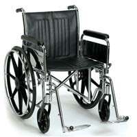Quality Heavy Duty Wheelchairs | Breezy EC 2000 HD450 Wheelchair  | DME Hub.net