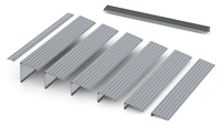 "Order Accessibility Ramps Online | Modular Entry Ramp for 4"" Threshold"