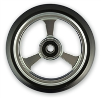 "Durable Wheelchair Parts & Accessories | 3"" x 1"" EPIC Alum Caster Wheel, 5/16"" Bearing"