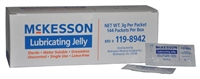 Save on Urological Supplies | McKesson Lubricating Jelly, 3gm Packets