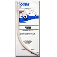 Save on Urological Supplies | Urocare Quick Drain Valve for Resuable Leg Bag