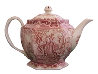 Lover's Red Teapot
