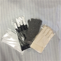 Ladies Fingerless Crocheted Gloves