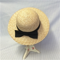 Small Brimmed Ladies Straw Hat