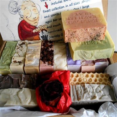 Artisan Soap Gift Set - Handcrafted Skin Care Bar Soap - Great Gift , Bars selected are from our finest collection.