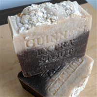 Beer Soap Handmade Artisan Bar Soap Oatmeal Stout Beer - Handcrafted Natural Skin Care Soap Gentle Exfoliate