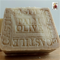 Handmade Castile Olive- Palm with Cocoa Butter Soap Bar Un-Scented