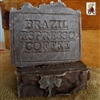 Natural Artisan Handmade Bar Soap  Brazilian Coffee Espresso Soap Hint of Vanilla