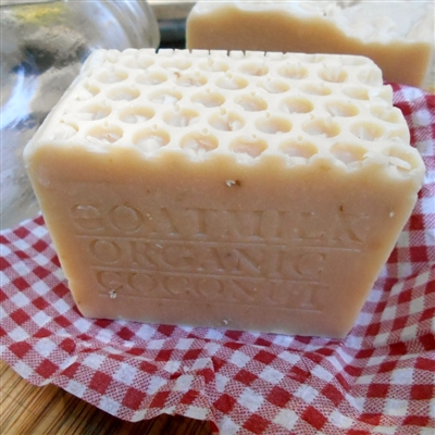 Aged Farm Fresh Goat and Organic Coconut milk Soap Large Bar