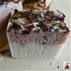 French Jasmine Soap With Crushed Flowers and Rose