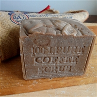 Natural Aged  Brazilian Scrub Soap LARGE  Bar