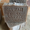Natural Coffee Soap- Kona coffee Artisan  Handcrafted Soap Bar