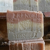All Natural Artisan French Lavender Jasmine Grandiflorum Sea and Rose Clay Bar Soap