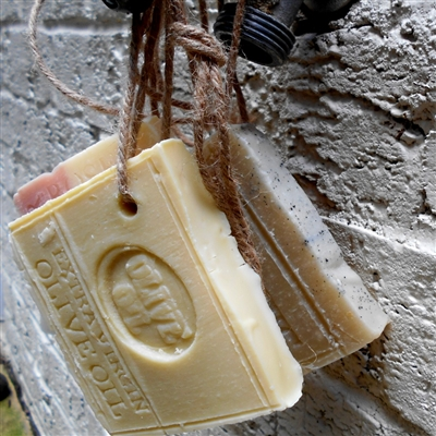 All Natural Handcrafted Soap On A Rope Handmade